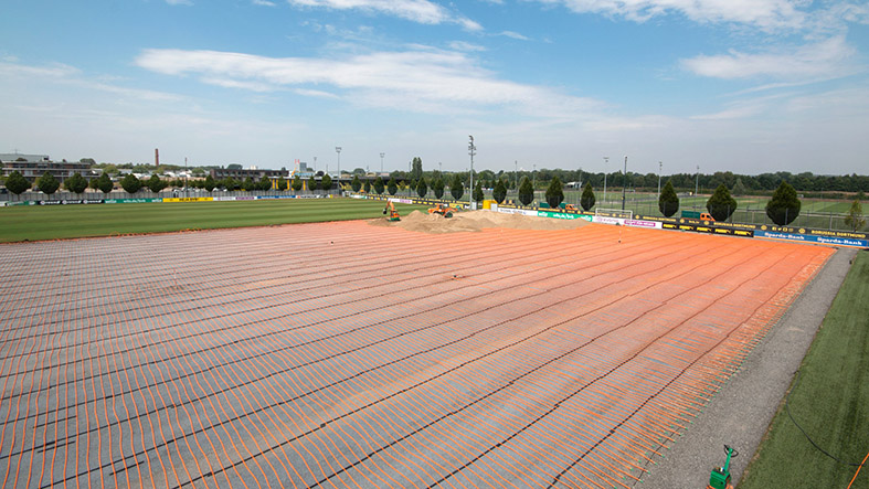 Sustainable Turf Heating System